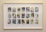 21 framed palettes, horizontal format 2013 by Richard Manning